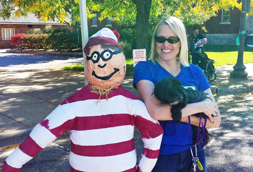 I Found Waldo at Saline Oktoberfest 2014 Jill Durnen of Hartman Insurance