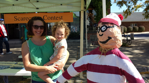 I Found Waldo - Where's Waldo? - he's at the 10th Annual Saline Oktoberfest 2014 #Family #Fun #Fall #Festival