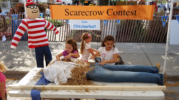 Scarecrow Building Workshops - Saline Scarecrow Contest - Dates and Locations