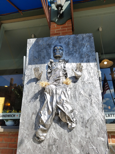 Han Solo in Carbonite by Carrigan Cafe - Entry #16 - Seventh Annual Saline Scarecrow Contest