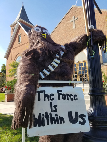 The Force is Within Us by St Paul UCC - Entry #17 - Seventh Annual Saline Scarecrow Contest