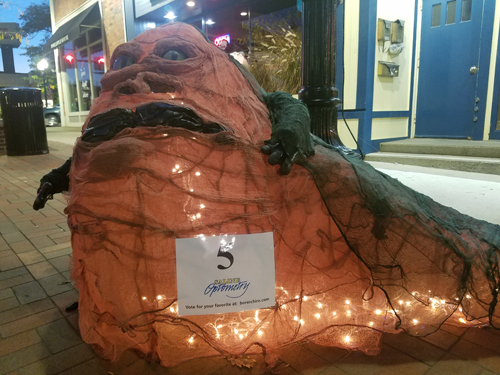 Jabba the Hut by Saline Optometry - Entry #5 - Seventh Annual Saline Scarecrow Contest