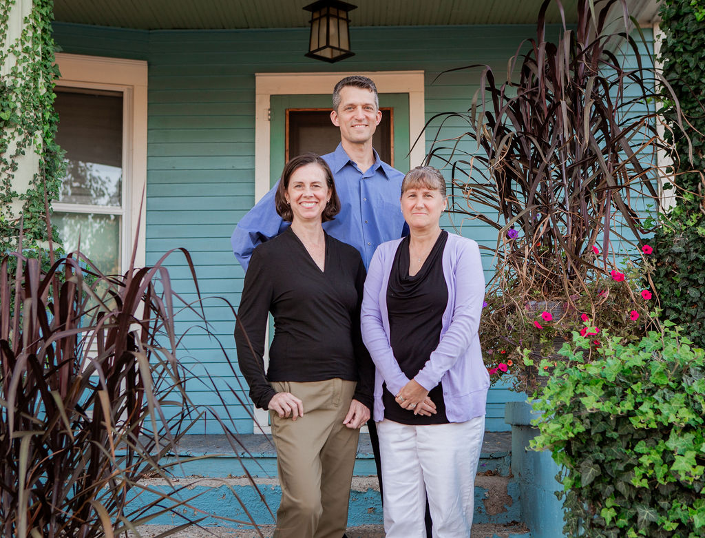 Borer Family Chiropractic Team - Dr Rob, Dr Sherri, Audrey