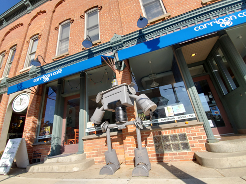 Entry 14 - The Iron Giant by Carrigan Cafe