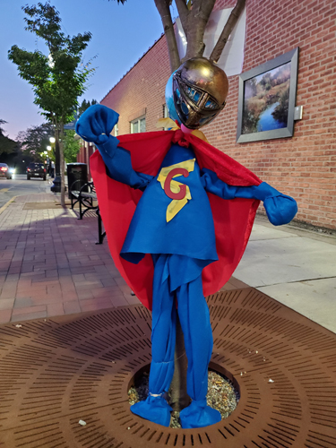 "Entry 8 ""Super Grover!!"" by Saline District Library"